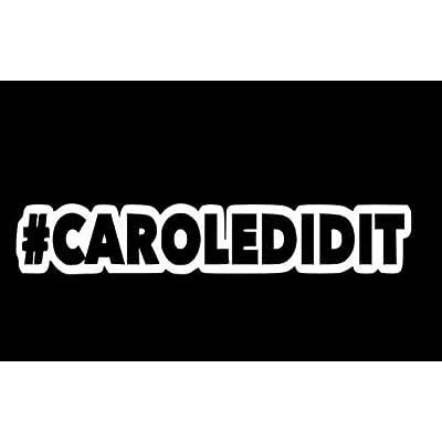 Joe Exotic Sticker Caroledidit Tiger Decal: Baby