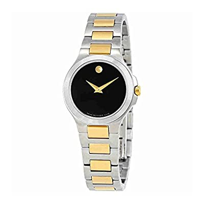 Movado Collection Black Dial Ladies Watch 606908 by Movado