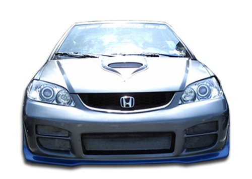 Duraflex ED-GVQ-949 R34 Front Bumper Cover - 1 Piece Body Kit - Compatible For Honda Civic - 1 Bumper Front Piece