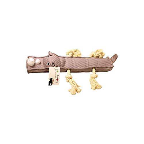 Rhino Rope Toy - Patchwork Pet Rhino Stick, 20