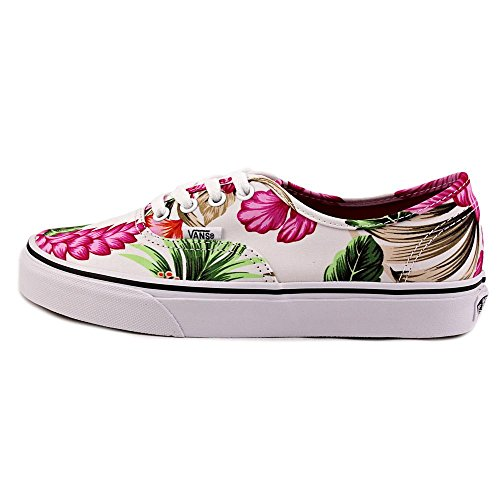 Vans Authentic, Zapatillas de skateboarding Unisex (hawaiian floral) white