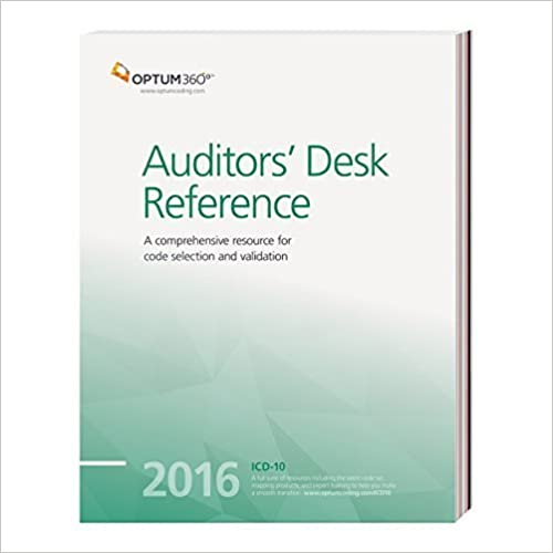 Auditors Desk Reference 2016 by Optum360 (2015-11-20)