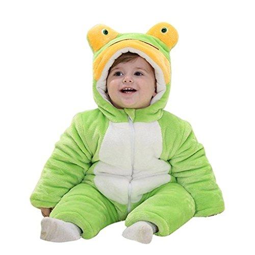 Staringirl Boys Girls Winter Flannel Panda Bunting Outfits Snowsuit Romper Outwear
