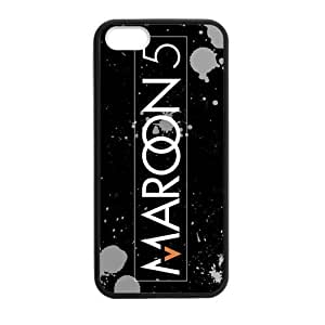 iPhone 5 Case, [Maroon5] iPhone 5,5s Case Custom Durable Case Cover for iPhone5 TPU case(Laser Technology)
