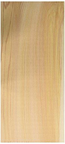 Jaccard Premium Cedar Grilling Planks (25 Pack), Large, Brown Cedar Wood