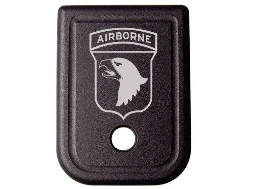 for Glock 9MM .40 Gen 1-5 Floor Base Plate Black NDZ Army Airborne 101st Division