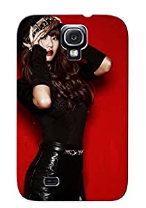 DeQaehQ2472HWYJY Tpu Phone Case With Fashionable Look For Galaxy S4 - Hyolyn Sistar Case For Christmas Day's Gift