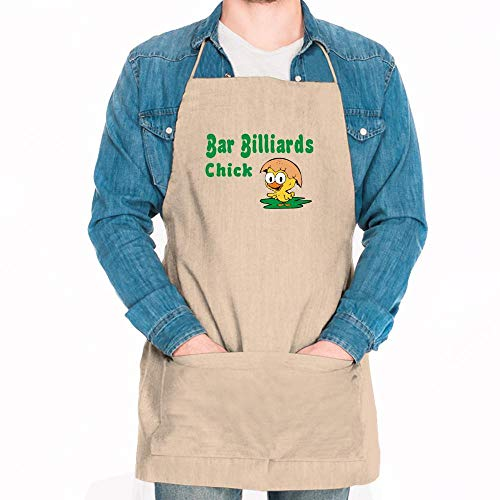 Billiards Chick - Idakoos Bar Billiards Chick Apron 24