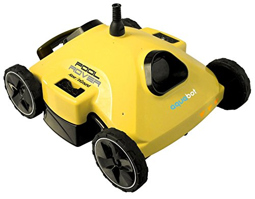 Photo Aquabot AJET122 Pool Rover S2-50 Robotic Pool Cleaner for Above-Ground and Small In-Ground Pools