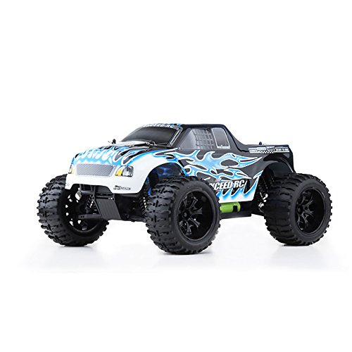 Exceed RC 1/10 2.4Ghz Electric Infinitive EP RTR Off Road Truck Fire Blue