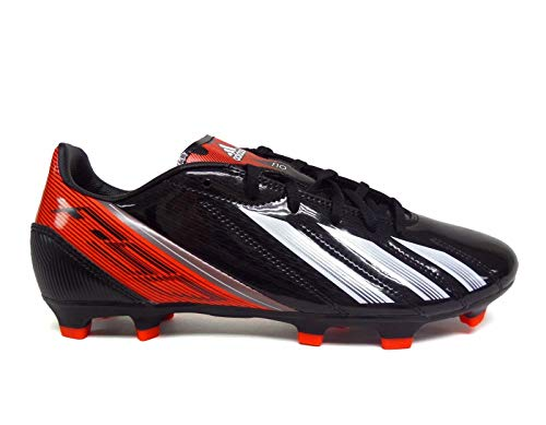 adidas F10 TRX FG Soccer Cleats - Black/White/Infrared (Mens) - 10