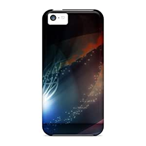 Premium [cFH12918Zlpo]widescreen Abstract Cases For Iphone 5c- Eco-friendly Packaging