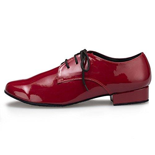 Miyoopark , Salle de bal homme - rouge - Burgudy-2.5cm heel,