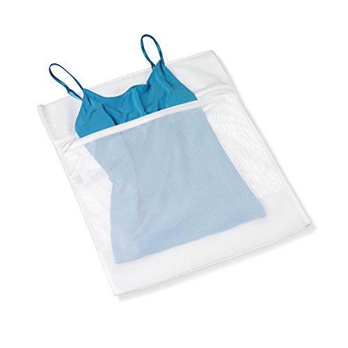 Delicates Wash Bag (Honey-Can-Do LBG-01145 Lingerie Wash Bag, White)