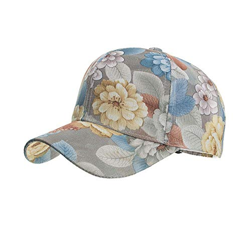 VISER Summer Cool Lace Print Baseball Cap Visor Classic Outdoor Sun Hat Breathable Adjustable Size Ladies' Casual Cap Elegant Girls' Headwear for All Face Types Mother Mom Gift Anti-UV Sunhat