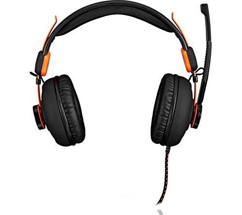 AFX Firestorm H01 Gaming Headset - Black & Orange: Amazon co uk: PC