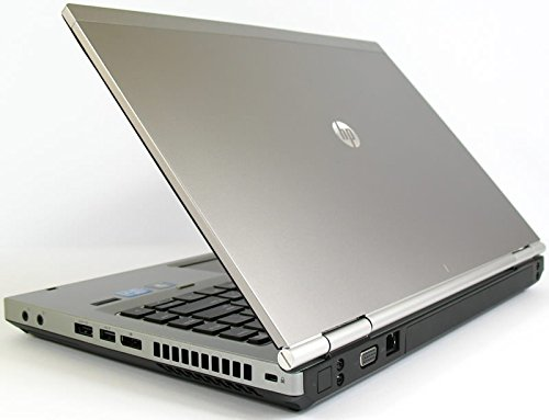 HP Elitebook 8470p, 3rd Gen Intel Core i5 3320, 2.6GHz, 8GB, 320GB HDD, DVD, 14in, Windows 10 Pro 64 (Renewed)