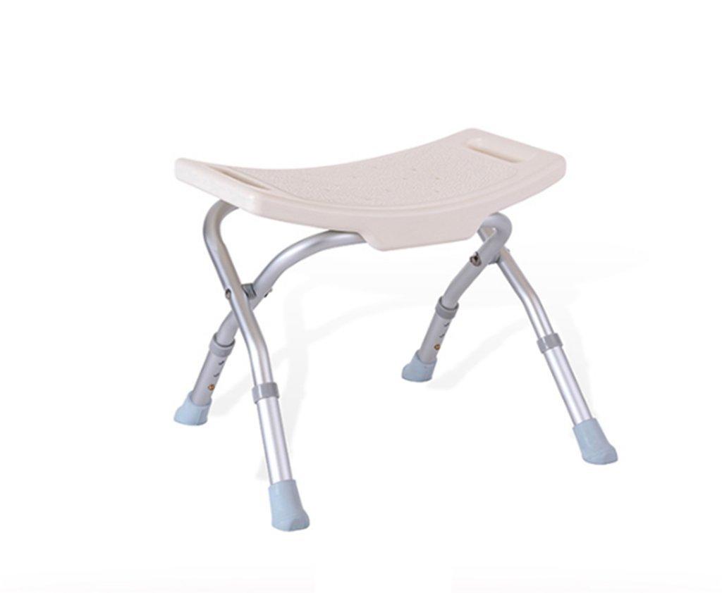 シャワー椅子、高さ調節可能なノンスリップ老人妊娠中の女性バス椅子バスルームシャワーチェア B078R93RPP