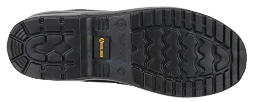 Amblers Femmes Cuir Femme Fs121c Negro De Chaussures Safety Sécurité Lighweight FFHaqWvT