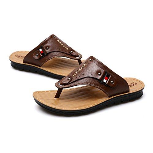 Los Slipper Colores CueroAl Hombre Pescador C2 3 Libre Verano Playa Zapatos Aire Antideslizante Sandalias 7x6vwZ5