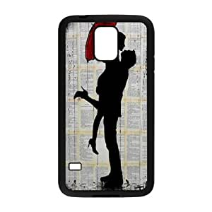 Unique draw Loui Jover Pen and Ink drawing Hard Plastic phone Case Cover For Samsung Galaxy S5 ZDI117228