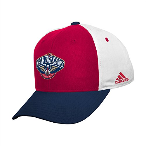 OuterStuff NBA New Orleans Pelicans Youth Boys 8-20 Structured Adjustable Cap, Navy, 1 Size