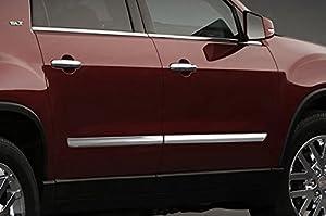 2008-2012 GMC Acadia SES Chrome Door Molding Trim & Amazon.com: 2008-2012 GMC Acadia SES Chrome Door Molding Trim ...