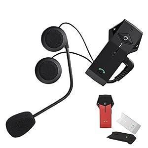 Bluetooth Intercom Helmet Communication Systems, FreedConn NFC COLO 1000M Bluetooth Headset Intercom Handsfree for Motorbike Motorcycle Helmets Waterproof BT Interphone with FM Radio