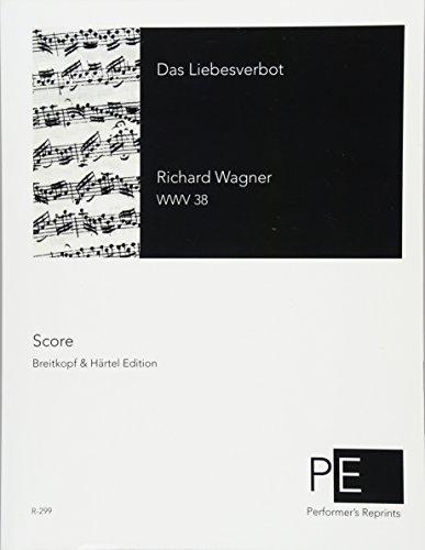 Das Liebesverbot  [Wagner, Richard] (Tapa Blanda)