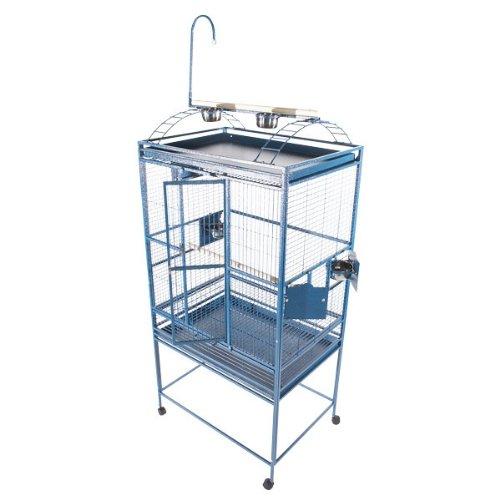 A&E Cage 8003223 Green Play Top Bird Cage with 5/8'' Bar Spacing, 32'' x 23''