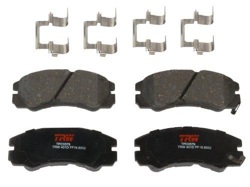 TRW TPC0579 Premium Front Disc Brake Pad (1995 Isuzu Rodeo Reviews)