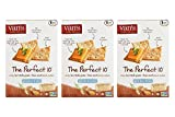 Vans Natural Foods The Perfect 10 Gluten Free Crackers, 4 Ounce - 6 Count per Pack (3 Pack)
