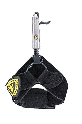 Carbon Express Trufire BDBF Bulldog Buckle Foldback Archery Compound Bow Release - Adjustable Black Wrist Strap, One Size