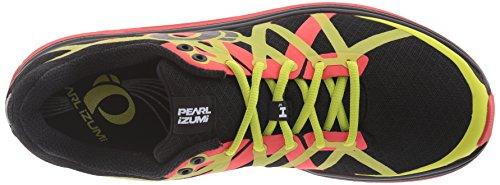 Pearl iZUMi Men EM Road H3 v2 Running Shoe Black/Grenadine
