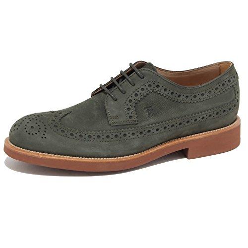 7150N scarpa TODS DERBY verde scarpe uomo shoes men Verde