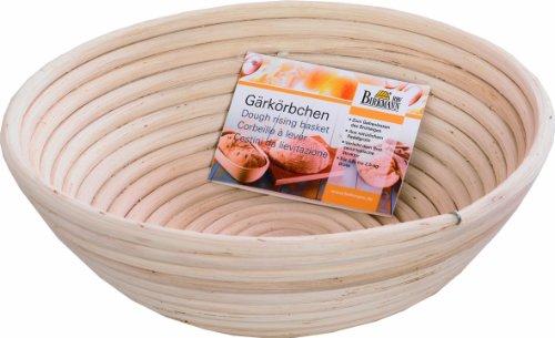 Birkmann 208971 Gärkörbchen rund, Ø 25 cm, Höhe 8.5 cm