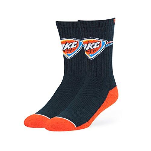 NBA Oklahoma City Thunder OTS Anthem Sport Sock, Navy, Large -