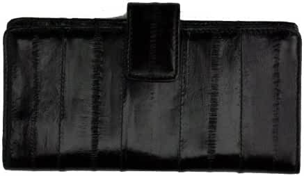 Eel Skin Credit Card Wallet New Sleek Design