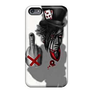 Iphone 6 Zye3886ZrXR Unique Design High-definition Godflesh Band Pictures Shock Absorption Hard Phone Case -InesWeldon
