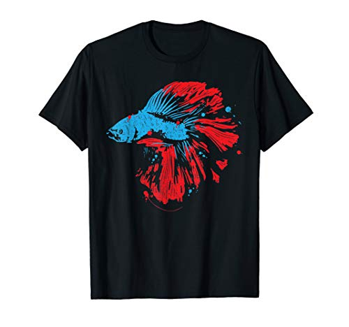 Betta Splendens Shirt Bettas Siamese Fighting Fish Gift (Betta Fish T Shirt)