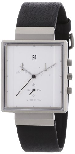 Jacob Jensen Men's Watch Chronograph Rectangular 806