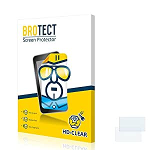 2x BROTECT HD-Clear Protector Pantalla Zenec Z-E3215 (BMW) Película Protectora – Transparente, Anti-Huellas