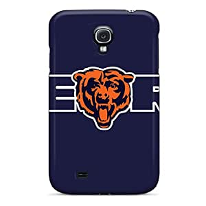 Samsung Galaxy S4 JYc17463RohY Allow Personal Design High Resolution Chicago Bears Image Shockproof Hard Phone Covers -SherriFakhry