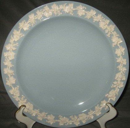 Wedgwood Plain Edge Cream Color On Lavender Salad Plate