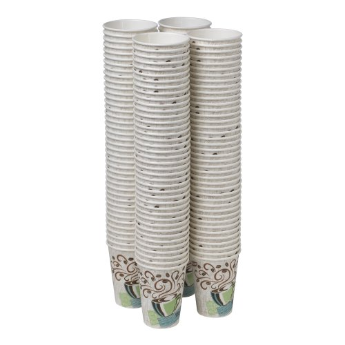 Large Product Image of Dixie PerfecTouch 5342CDSBP Insulated Hot Cup, New Design, 12 oz. (160 cups)
