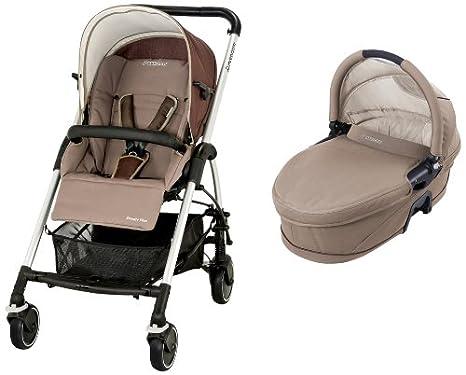 Maxi-Cosi 19885350 Streety Plus Set - Carrito convertible con capazo y silla de paseo