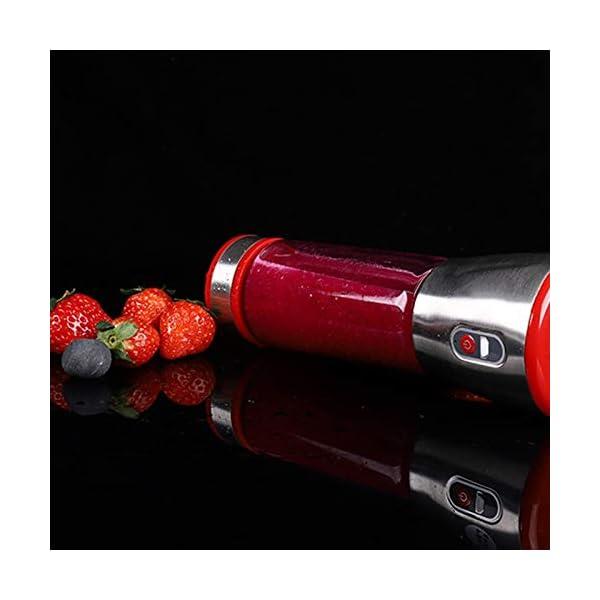 Mini frullatore elettrico ricaricabile portatile frullatore frullatore tazza spremiagrumi spremiagrumi limone frutta… 6 spesavip