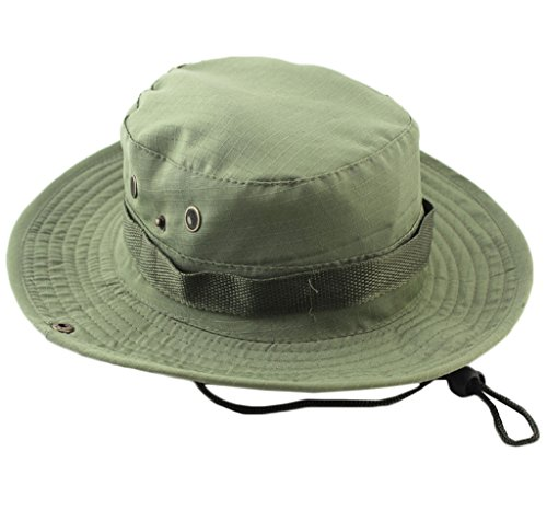 Sawadikaa Outdoor UPF 50+ Boonie Hat Summer Sun Protect Caps Camping Fishing Hats Bucket Hat G
