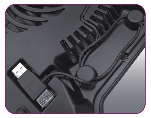 Cooler Master Notepal X-slim Ultra-slim Laptop Cooling Pad With 160mm Fan (R9-nb