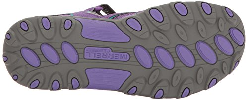 H2O Chaussures Purple Grey Mixte enfant B Outdoor Multisport Hiker ML Merrell qIxCpEwBE